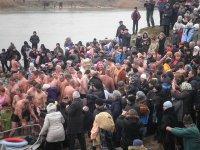 Крещенские купания в Геническе