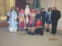 Новогодний концерт 2015  в с. Счастливцево (видео)