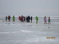 Крещенские морозы на Арабатской стрелке!!!(фото и видео)