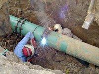 На Арабатской стрелке возле Горячего источника пытались похитить газовую задвижку!!