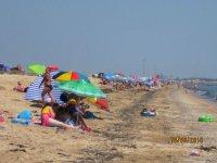 Поток туристов на Арабатской стрелке продолжает расти(фото)