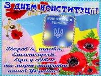 С Днем Конституции Украины!!!!