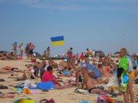 С Днем Независимости Украины!!! Как отмечают этот праздник туристы!(фото)