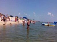 Арабатская стрелка 2015,каким был  летний отдых для туристов из г. Запорожья(видео)