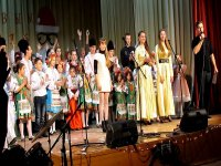 Новогодний концерт 2016 в с. Счастливцево(видео)