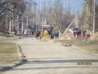В с. Счастливцево по всем улицам устанавливают подземные пожарные  гидранты!