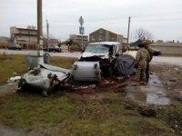 В Счастливцево произошло ДТП с участниками блокады Крыма