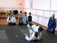 В с. Счастливцево состоялось открытие  секции по  Дзюдо (видео)