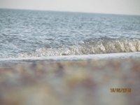 Шум Азовского моря в феврале 2016 года на Арабатской стрелке(фото и видео)