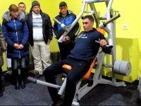 В с. Счастливцево  в доме культуры открылся новый спортзал (фото и видео)