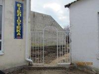 В с. Счастливцево   сделали дополнительный вход в сельскую библиотеку !!!(фото)