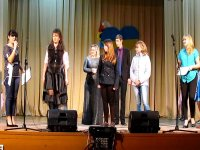 В с. Счастливцево прошел  юмористический концерт  1 апреля(видео)