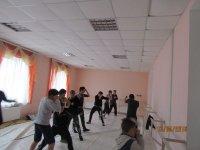 В с. Счастливцево в доме культуры открылась секция по боксу!!!!(видео)
